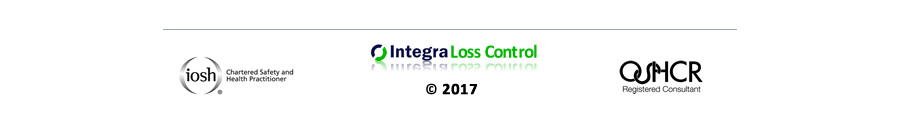 Integra Loss Control Health and Safety consultants are OSHCR Registered Safety Consultants and has chartered members of IOSH
