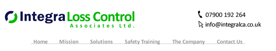 Integra Loss Control Associates Ltd are a Scotland based Health and Safety Consultancy. With a wide range of health and safety experience and specialist knowledge, Integra can help your business with its' health and safety needs.